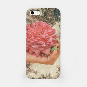 Thumbnail image of Beauty Concept Photo Collage Illustration iPhone Case, Live Heroes