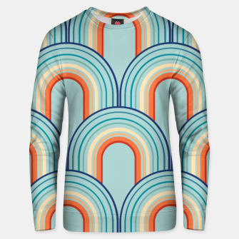 Thumbnail image of Rainbow Arch Minimal Abstract Wave #2 #decor #art Unisex sweatshirt, Live Heroes