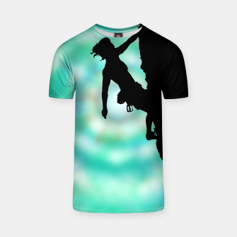 Thumbnail image of Between rock and sky t shirt, Live Heroes