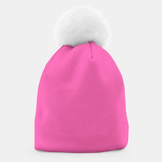 Miniatur color hotpink Beanie, Live Heroes