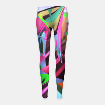 Thumbnail image of Papuanewguinea Girl's leggings, Live Heroes