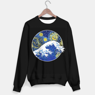 Miniatur Great Starry Wave Sweater regular, Live Heroes