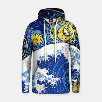Thumbnail image of Great Starry Wave Hoodie, Live Heroes