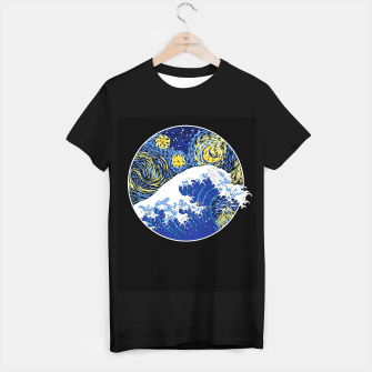 Thumbnail image of Great Starry Wave T-shirt regular, Live Heroes
