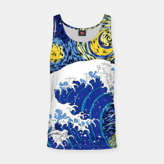 Miniatur Great Starry Wave Tank Top, Live Heroes