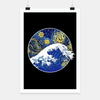 Miniatur Great Starry Wave Poster, Live Heroes