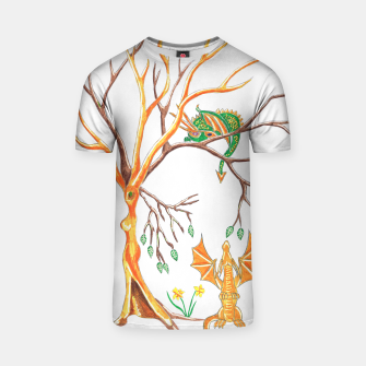 Thumbnail image of Baby Dragon Hide And Seek t shirt, Live Heroes
