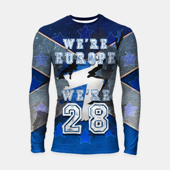 Thumbnail image of SCOTLAND IS EUROPE Longsleeve rashguard, Live Heroes