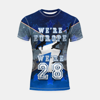 Thumbnail image of SCOTLAND IS EUROPE Shortsleeve rashguard, Live Heroes