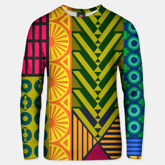 Thumbnail image of AfriPattern 01 Unisex sweater, Live Heroes
