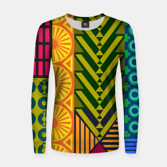 Thumbnail image of AfriPattern 01 Women sweater, Live Heroes
