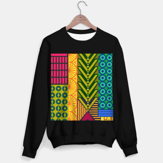 Thumbnail image of AfriPattern 01 Sweater regular, Live Heroes