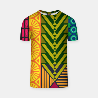 Thumbnail image of AfriPattern 01 T-shirt, Live Heroes