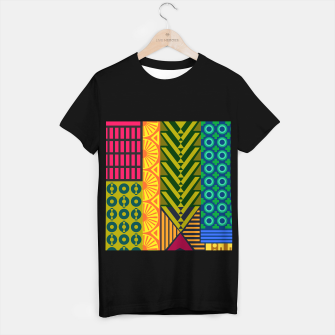 Thumbnail image of AfriPattern 01 T-shirt regular, Live Heroes