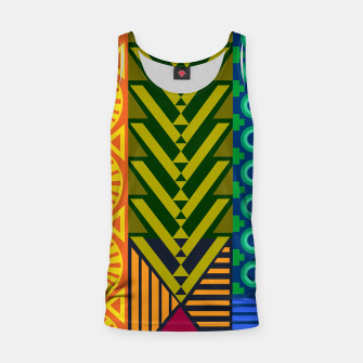 Thumbnail image of AfriPattern 01 Tank Top, Live Heroes