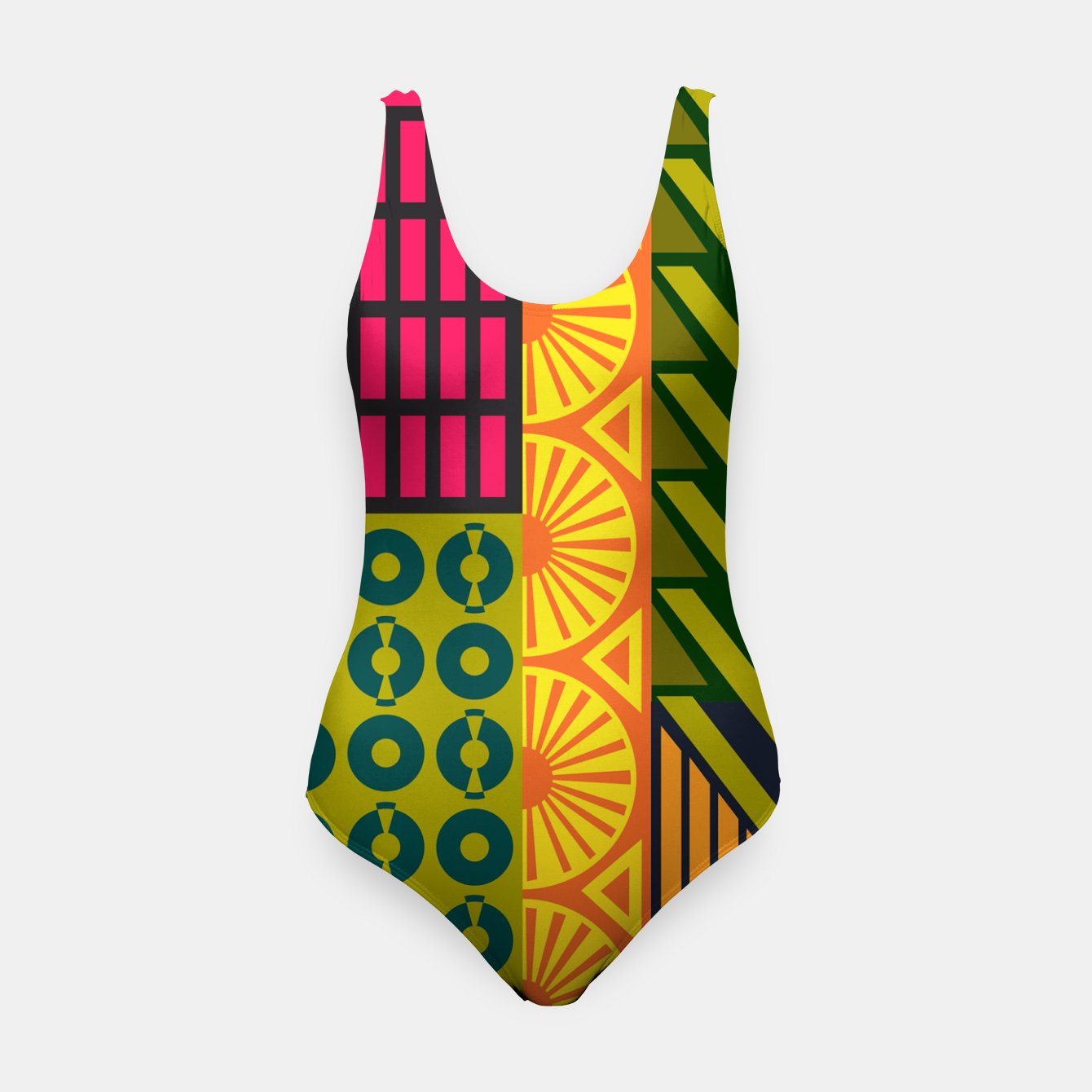 Image of AfriPattern 01 Swimsuit - Live Heroes