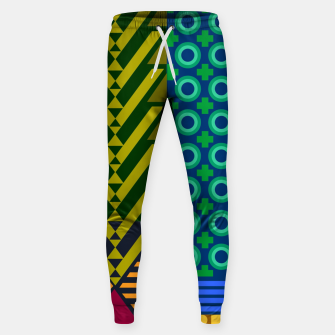 Thumbnail image of AfriPattern 01 Sweatpants, Live Heroes