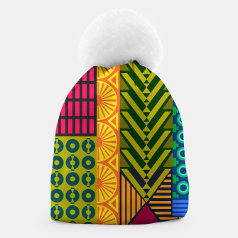 Thumbnail image of AfriPattern 01 Beanie, Live Heroes