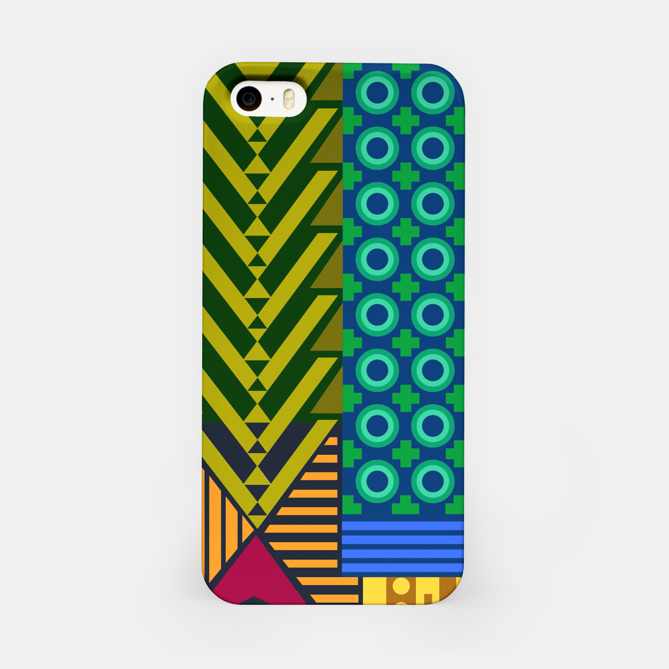 Image of AfriPattern 01 iPhone Case - Live Heroes