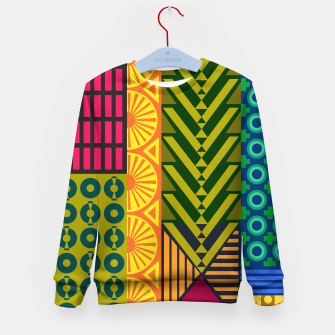 Thumbnail image of AfriPattern 01 Kid's sweater, Live Heroes