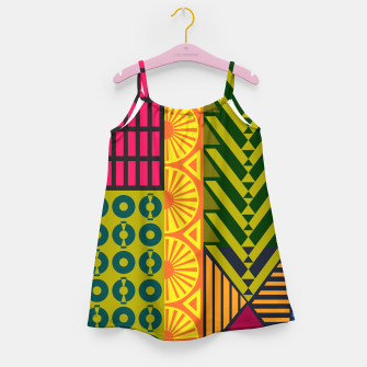 Miniatur AfriPattern 01 Girl's dress, Live Heroes