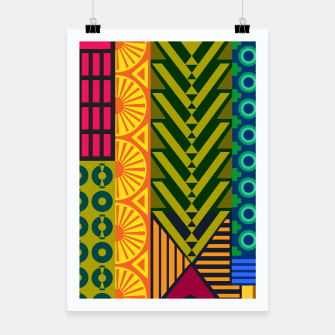 Thumbnail image of AfriPattern 01 Poster, Live Heroes