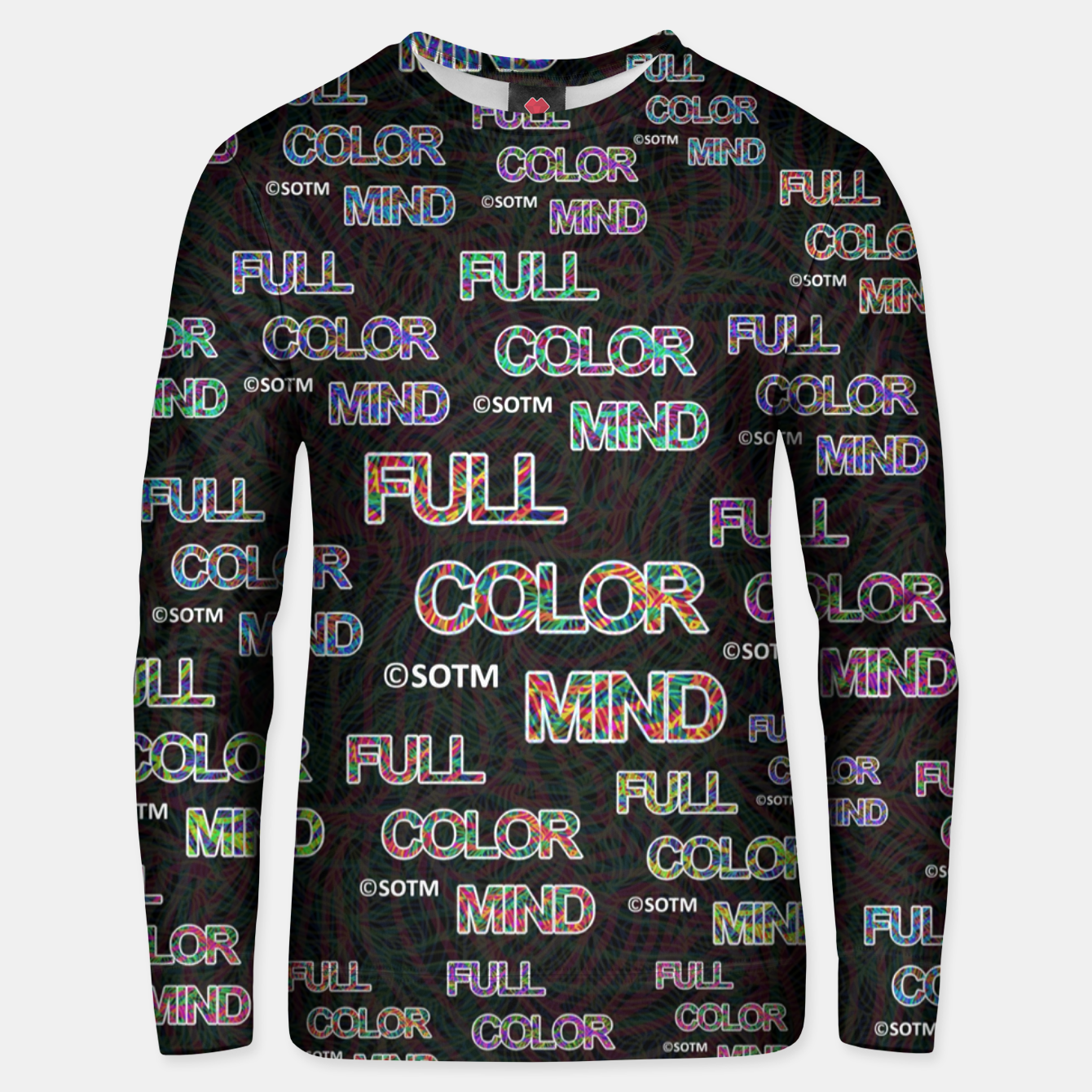 Image of Full Color Mind Unisex sweater - Live Heroes