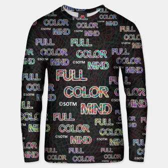 Full Color Mind Unisex sweater thumbnail image