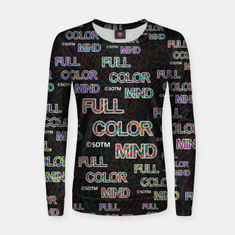 Thumbnail image of Full Color Mind Women sweater, Live Heroes