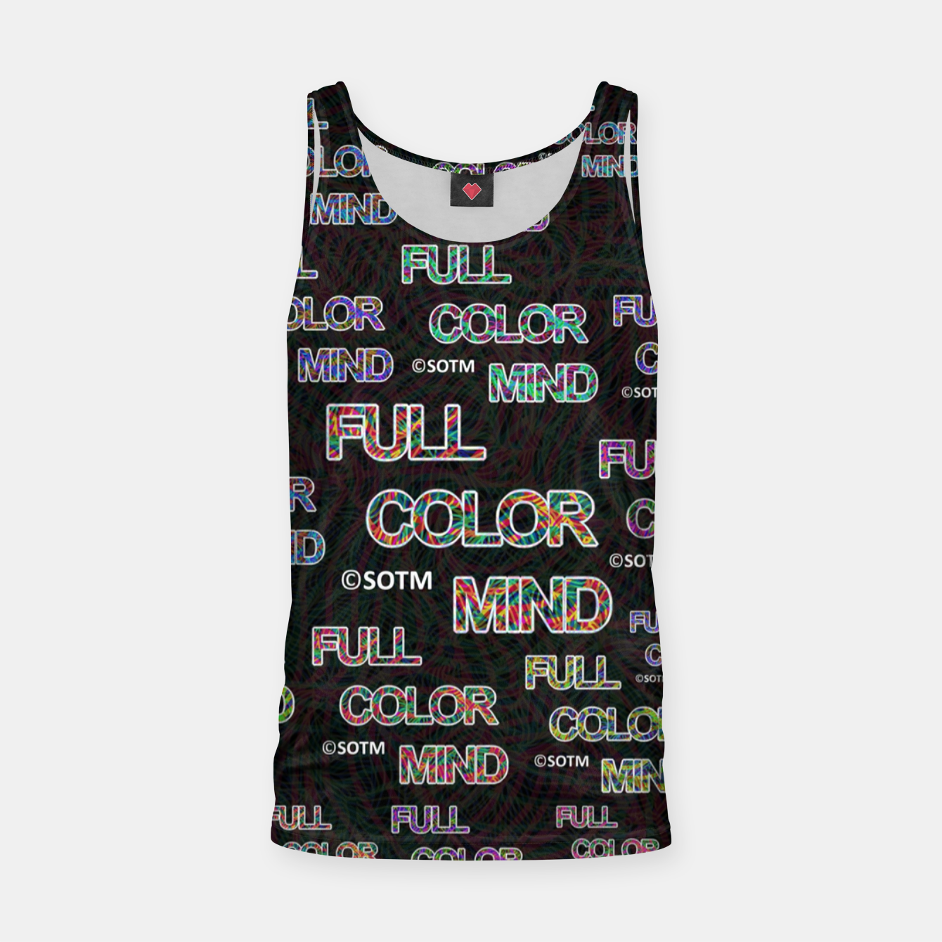 Image of Full Color Mind Tank Top - Live Heroes