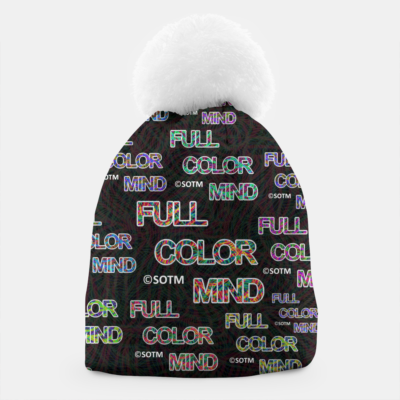 Image of Full Color Mind Beanie - Live Heroes