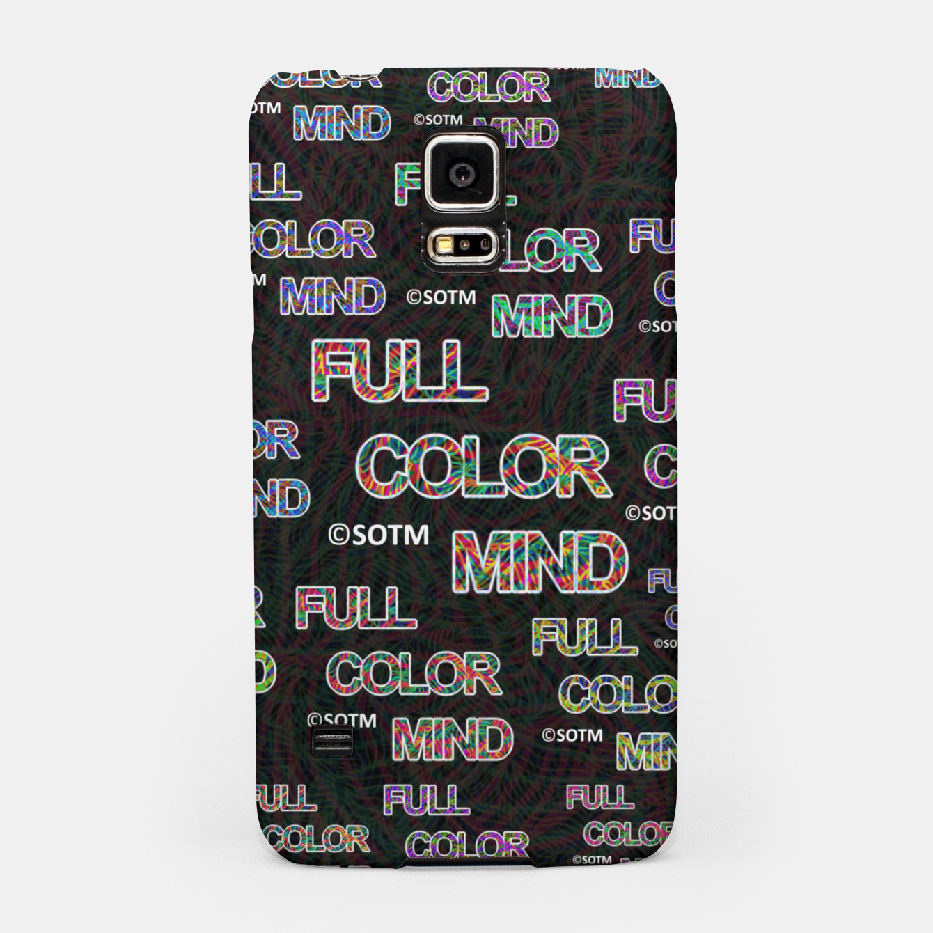 Image of Full Color Mind Samsung Case - Live Heroes