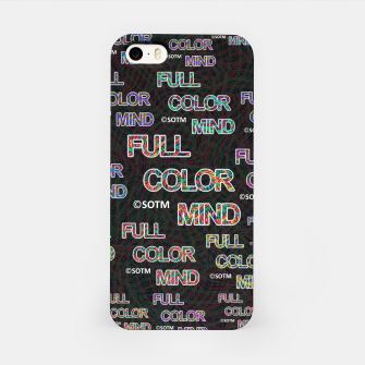 Full Color Mind iPhone Case thumbnail image