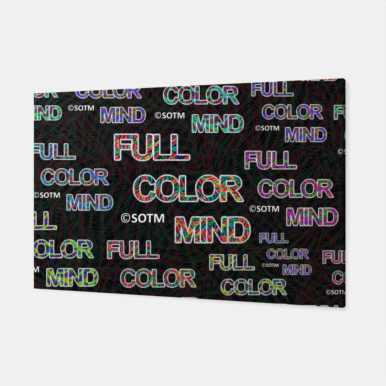 Image of Full Color Mind Canvas - Live Heroes