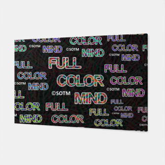 Thumbnail image of Full Color Mind Canvas, Live Heroes