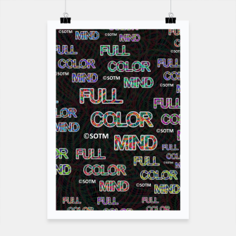 Thumbnail image of Full Color Mind Poster, Live Heroes