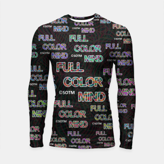 Full Color Mind Longsleeve rashguard  thumbnail image