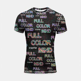 Thumbnail image of Full Color Mind Shortsleeve rashguard, Live Heroes