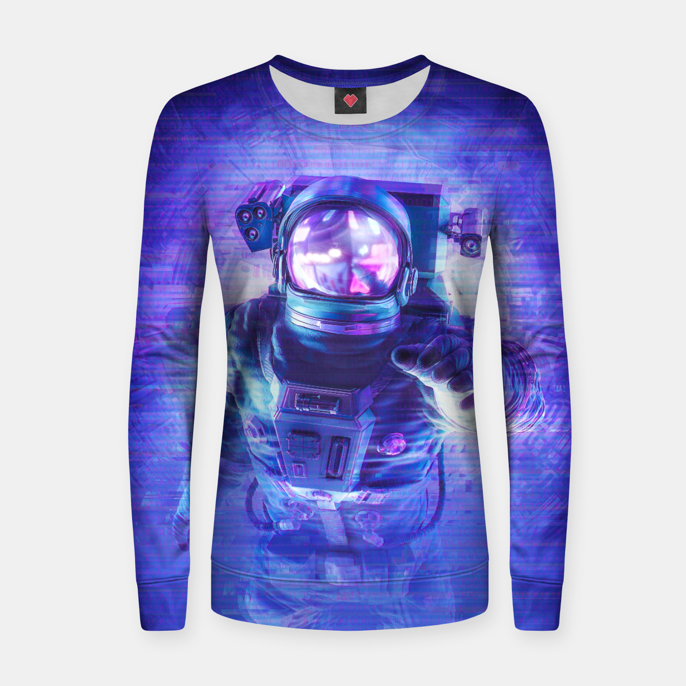 Image of Transmission Error Women sweater - Live Heroes