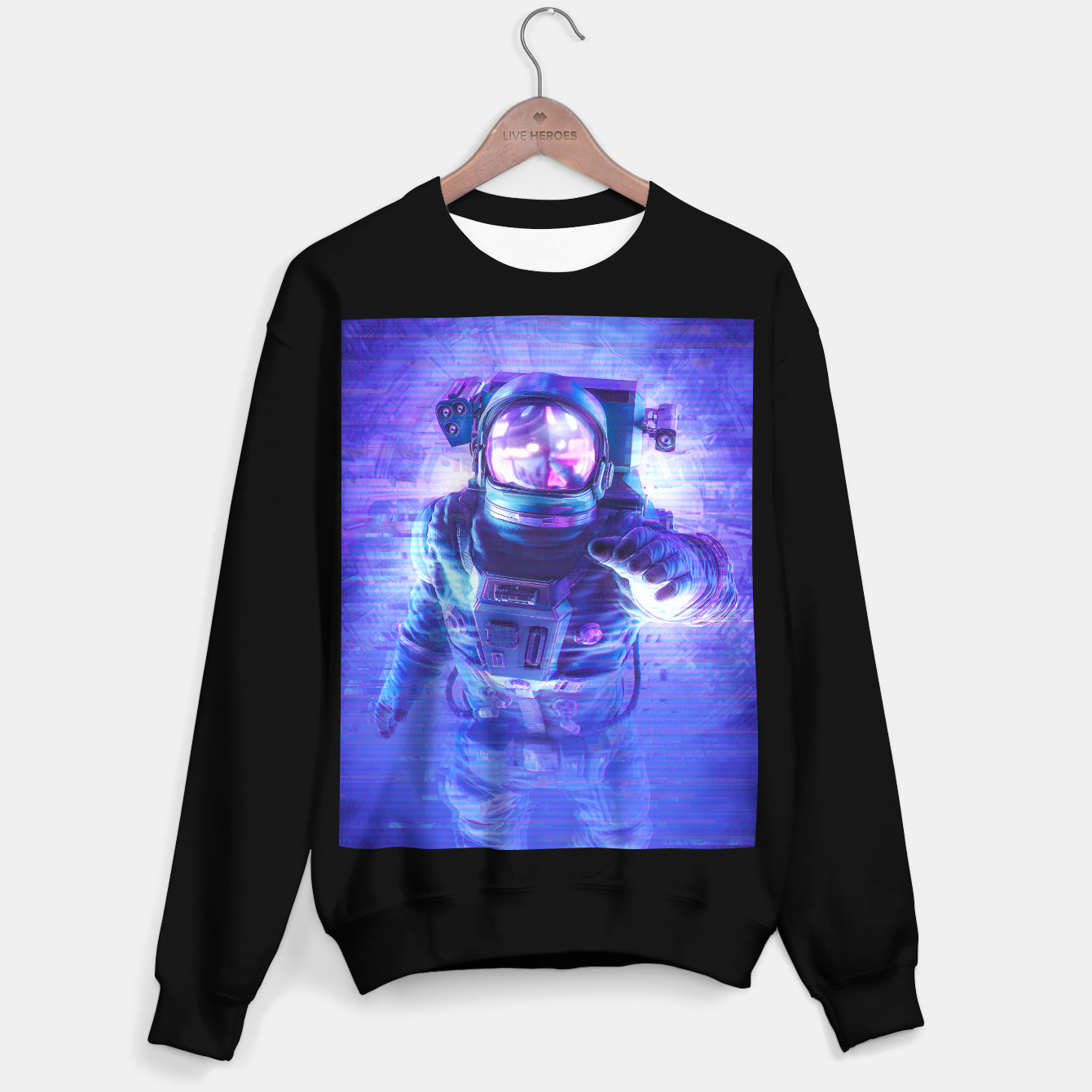 Image of Transmission Error Sweater regular - Live Heroes
