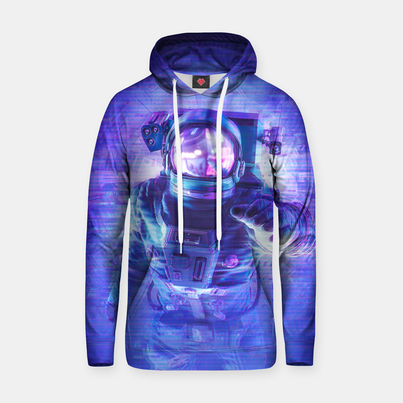 Image of Transmission Error Hoodie - Live Heroes