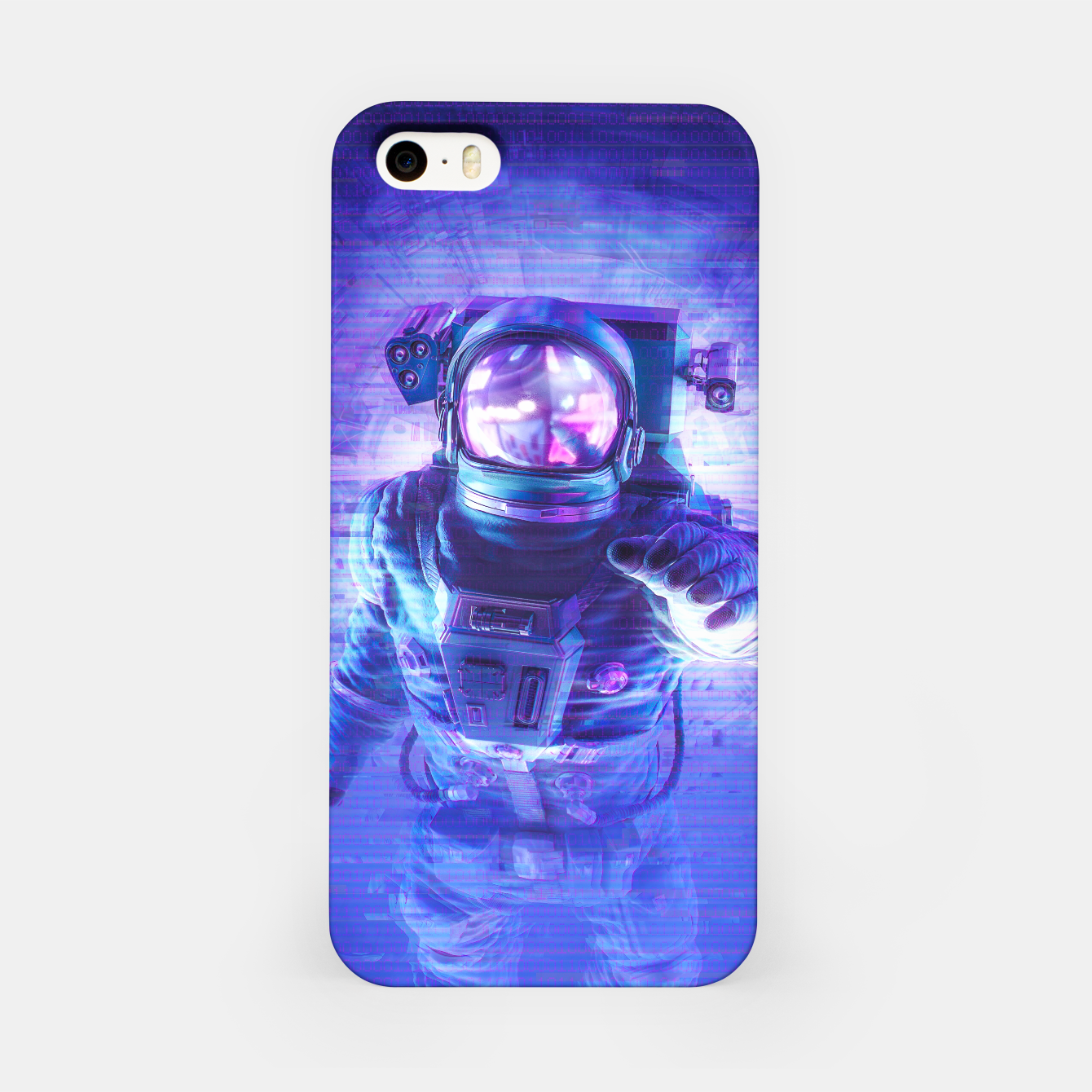 Image of Transmission Error iPhone Case - Live Heroes