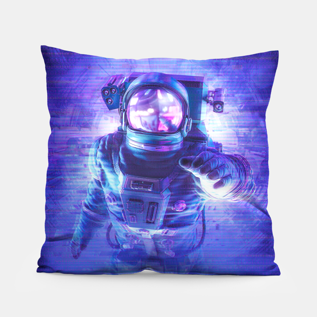 Image of Transmission Error Pillow - Live Heroes