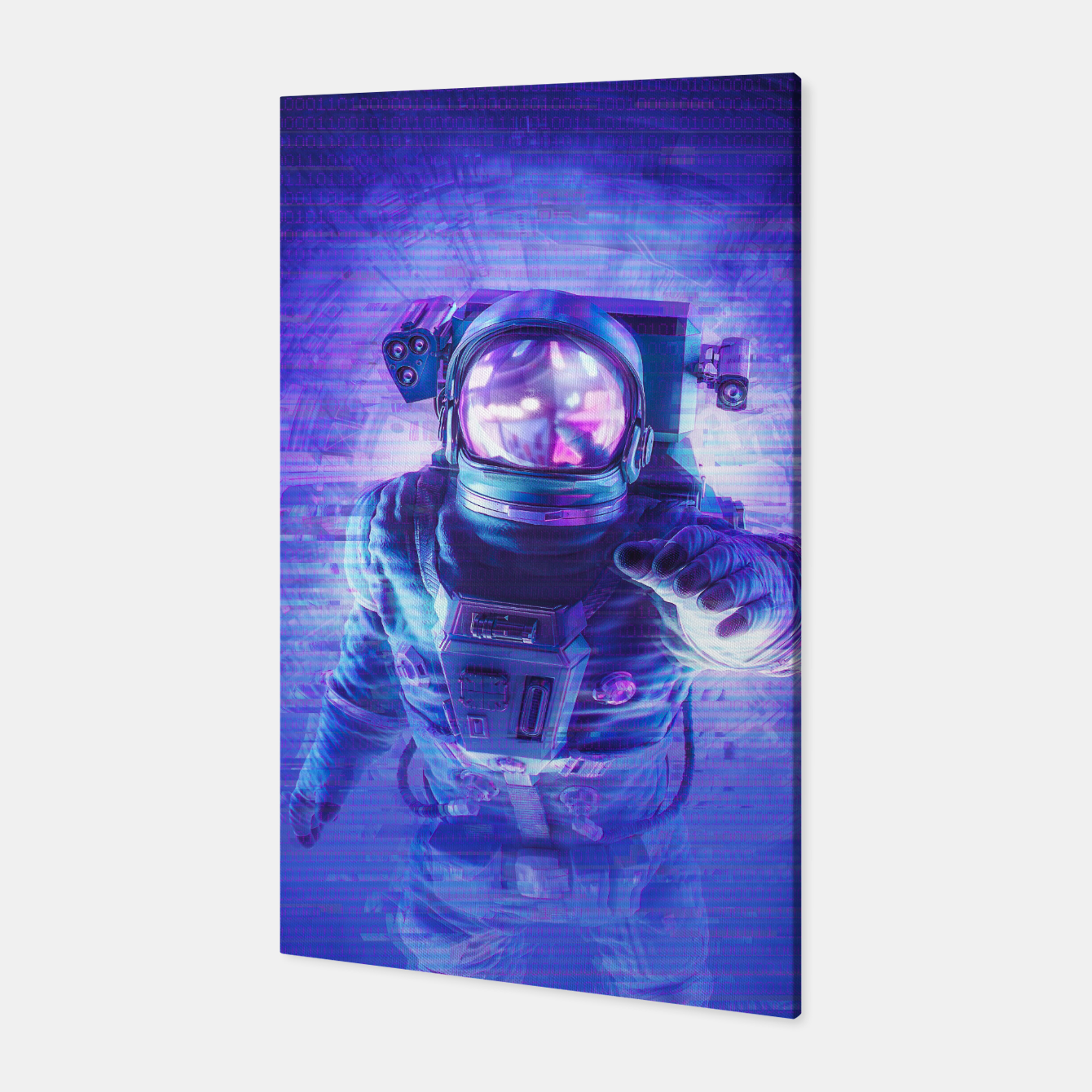 Image of Transmission Error Canvas - Live Heroes