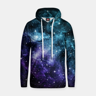 Imagen en miniatura de Teal Purple Galaxy Nebula Dream #1 #decor #art  Kapuzenpullover, Live Heroes