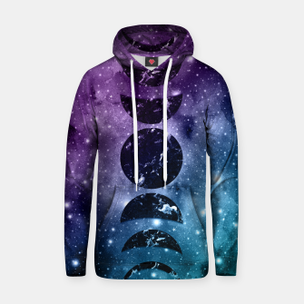 Imagen en miniatura de Purple Teal Galaxy Nebula Dream Moon Phases #1 #decor #art  Kapuzenpullover, Live Heroes