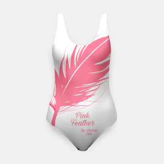 Miniatur Pink Feather Swimsuit, Live Heroes