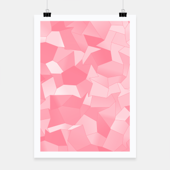 Thumbnail image of Geometric Shapes Fragments Pattern pw Poster, Live Heroes