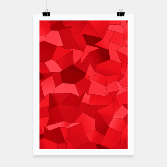 Thumbnail image of Geometric Shapes Fragments Pattern re Poster, Live Heroes