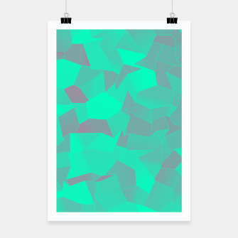 Thumbnail image of Geometric Shapes Fragments Pattern tq Poster, Live Heroes
